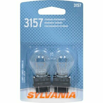 SYLVANIA 3157 Basic Miniature Bulb, (Pack of 2)