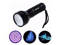 Loftek 51 ultraviolet LED flash light torch 395Nm High Quality