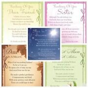 Memorial Birthday Cards