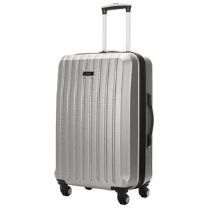 """Kenneth Cole Silver 24"""" Midsized Suitcase"""