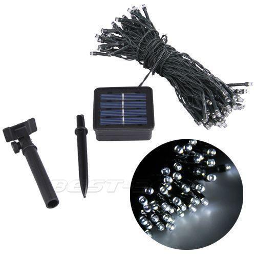 Garden Lights Solar Ebay : Outdoor solar string lights