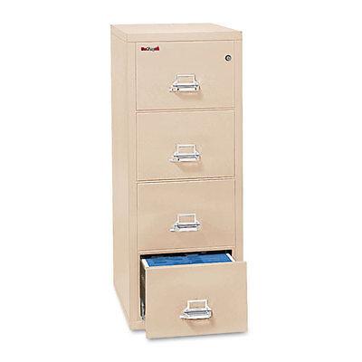 Fire King 4-Drawer Fire Safe Vertical File  UL 350? for Fire Legal  FIR42125CPA (4 Drawer Legal Fire File)