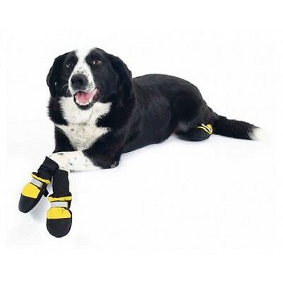 (Companion Gear DOG BOOTS Non-Skid Soft Fleece Lining (You Choose: S, M, L) )