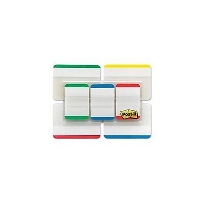 Post-it Durable Index Tabs - Write-on - 66 Pack - Assorted Tab 686vad1