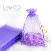 Purple Favor Bags