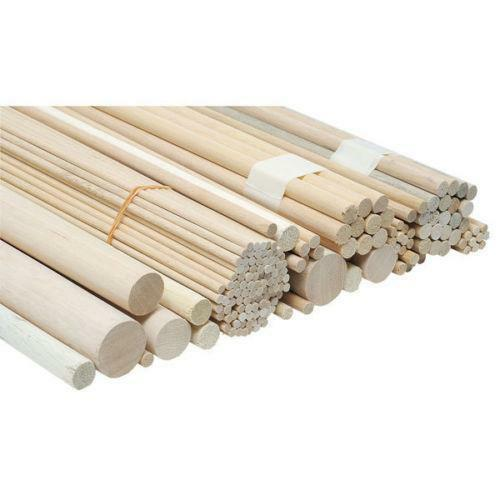 Wooden Dowel Rods Crafts Ebay