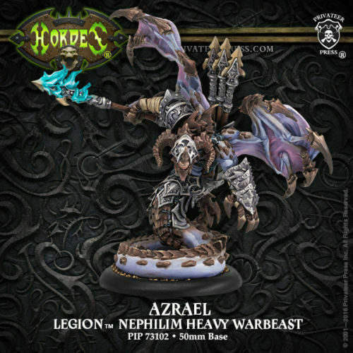 Hordes Legion of Everblight Azrael NEW