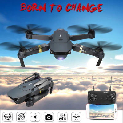 Eachine E58 2MP 720P Camera WIFI FPV Foldable Drone 2.4G 6-Axis RC Quadcopter US
