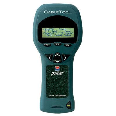 Psiber Ct50 Cabletool Multifunction Tdr Fault Finder Voltage Meter