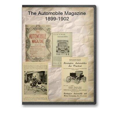 The Automobile Magazine 1899 1902 on CD B541