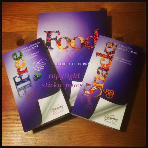 Slimming World Food Directory Ebay
