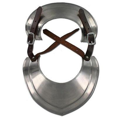 Medieval Knights Templar Renaissance Gorget Neck Plate Armor - Renaissance Knight Armor