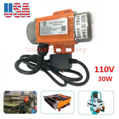 110V 30W AC Vibration Motor 1PH Industrial Asynchronous Vibrating Motor 3600rpm