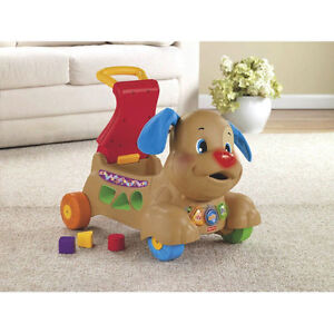 Fisher-Price Laugh & Learn Stride-to-Ride Puppy - English