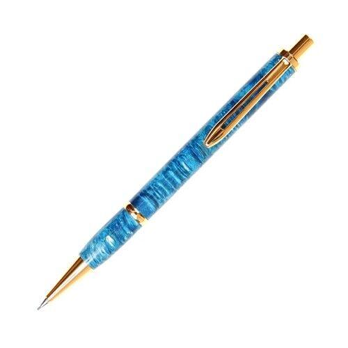 Longwood Pencil - Turquoise Box Elder
