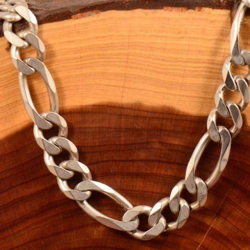 Mens Heavy Sterling Silver Necklace Ebay