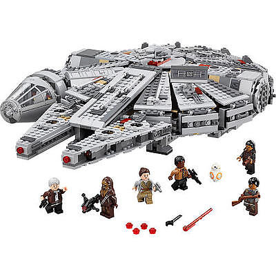 LEGO Star Wars Millennium Falcon (75105) *BRAND NEW NO BOX* Read Description*