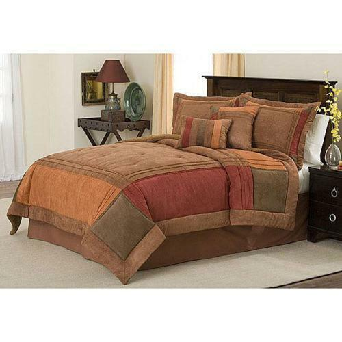 new bed collection handcrafted eldred microsuede comforter ebay 128