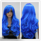 Blue Long Wigs & Hairpieces
