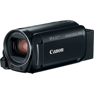 Canon VIXIA HF R800 3.28MP Full HD Camcorder, 57x Advanced Optical Zoom, Black