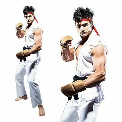 RYU Street Fighter Video Games Stag Party Cosplay Mens Adult Fancy - Street Fighter Cosplay Kostüm