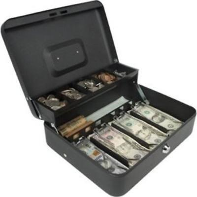 Royal Sovereign Rscb-400 Tiered Tray Steel Cash Box Perp 4bill 5coin Sections