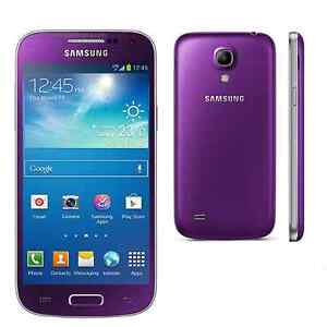 samsung galaxy s4 mini i9195 t l phone portable violet. Black Bedroom Furniture Sets. Home Design Ideas