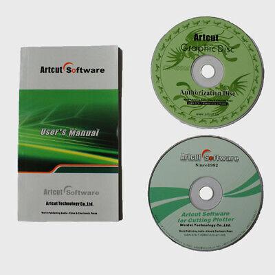 Best Value Artcut 2009 Software Pro Cutplot From Vinyl Cutter Cutting Plotter