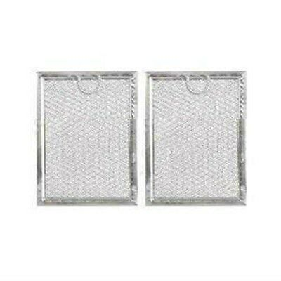 2PK Microwave Grease Filters Compatible for GE WB6X486 WB06X