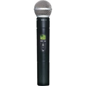 Shure SLX2/SM58 Wireless Handheld Transmitter with SM58 Mic
