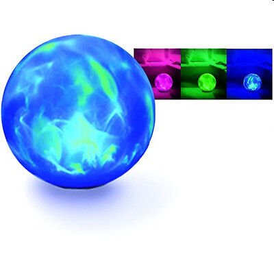 Crystal Ball Oz Psychic Halloween Changing Swirling BIG NICE Lighted Prop - Balls Halloween