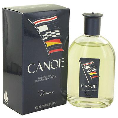 Canoe by Dana 4.0 oz EDT Cologne for Men New In Box