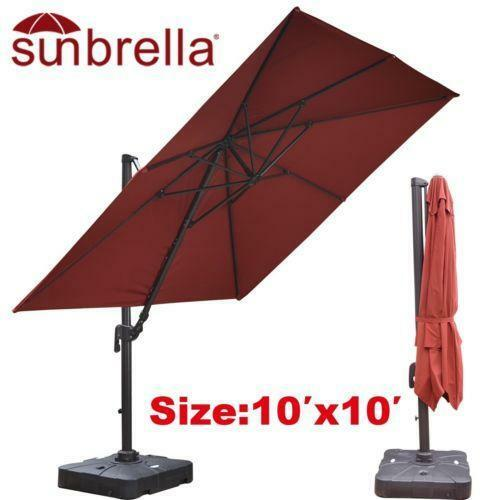 Sunbrella Patio Umbrella Ebay