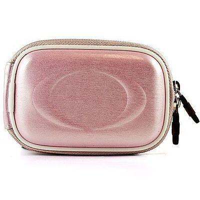 Semi Hard Camera Case - Pink Semi Hard Slim Camera Case For Nikon CoolPix A100 / Sony HDR AS50R / X1000V