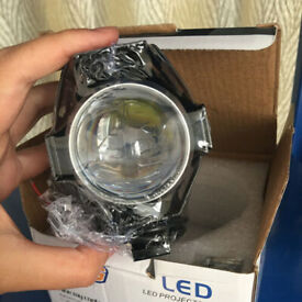 2 x HJG SUPER BRIGHT LED 35W DRL AUXILIARY LIGHTS 5000K FOG SPOT DRIVING LAMPS.*