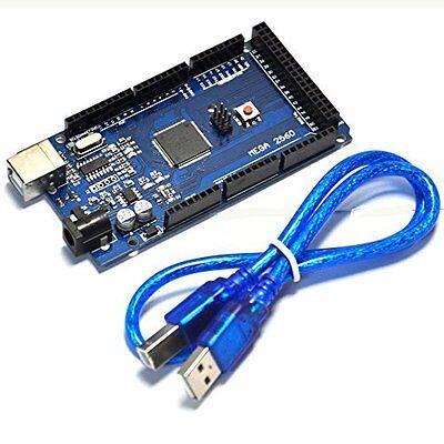 Funduino Mega 2560 Atmega2560-16au Board Arduino-compatible Free Usb Cable