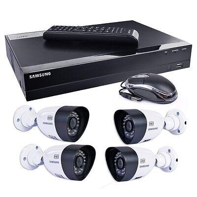 Samsung SDH-B3040 4 Cam 1TB 4-Kanal HD DVR Überwachungskamera Sicherheits System