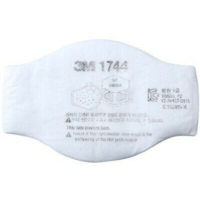10 Pcs 3M 1744 Particulate Filter P2 for 3M 1200 3100 3200 HF-50 series