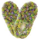 Green Fuzzy Slippers