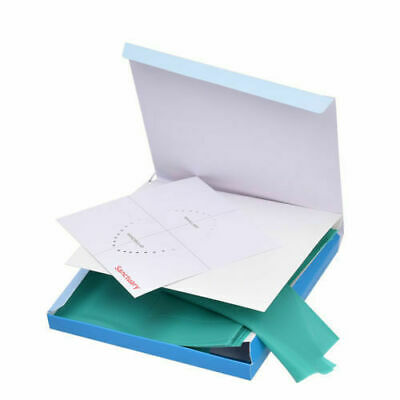 36 Pcskit Green Dental Rubber Dam Sheet Natural Latex Dura Dam 6 X 6 Inches