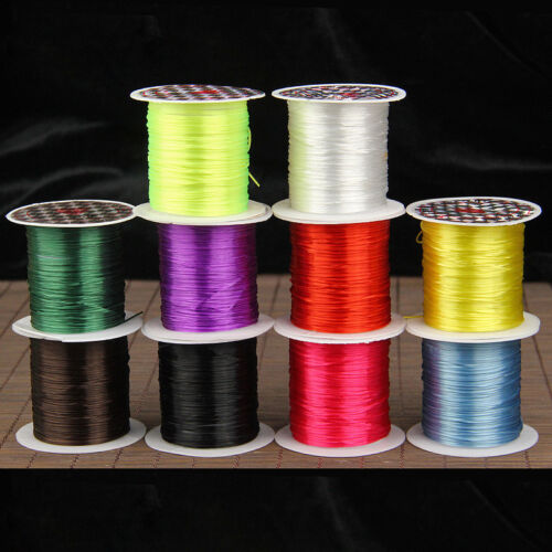 1.0mm High Stretchy Elastic Crystal String Cord Thread Jewel