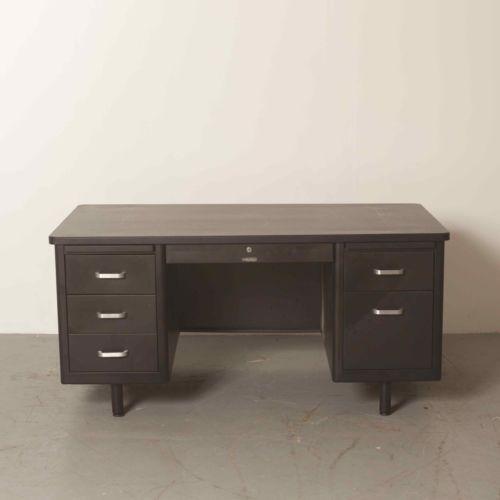 Metal Desk Ebay