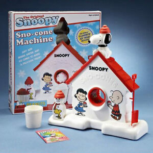 Snoopy Snow Cone Machine &  Cars Bean Bag Toss
