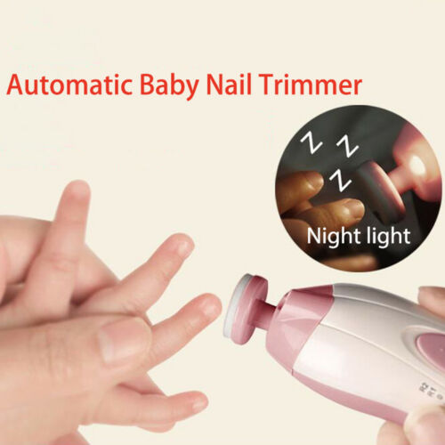 Back To Search Resultsmother & Kids Electric Baby Nail Trimmer Manicure Pedicure Clipper Cutter Scissors Newbron Kids Infant Volume Large