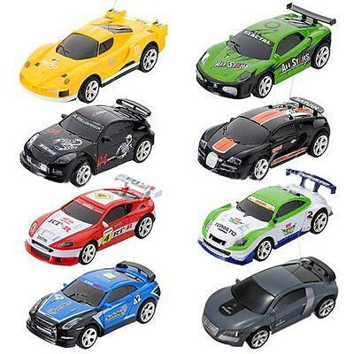 NEW Coke Can Mini RC Radio Remote Control Micro Racing Car