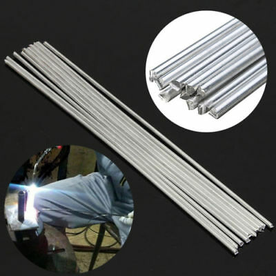 10pcs 3.2x230mm Aluminium Low Temperature Welding Soldering Brazing Repair Rod
