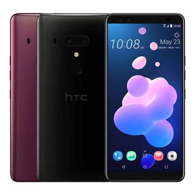 "HTC U12+ Plus Dual 128GB (FACTORY UNLOCKED) 6.0"" QHD 6GB RAM Black Blue Red"