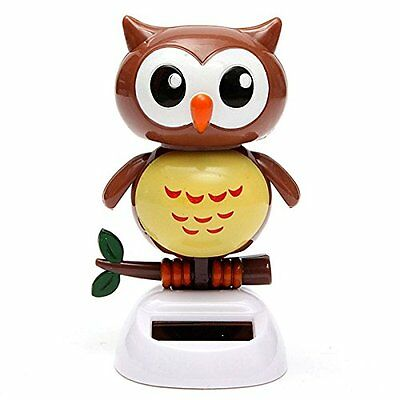Adorable Baby Owl Solar Powered Toy Home Decor Birthday Gift US Seller