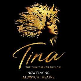 3 x TINA THE MUSICAL Tonight (Friday 20 April) - £79.50 each