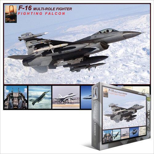 JIGSAW PUZZLE EG60004956  Eurographics Puzzle 1000 Pc - F-16 Fighting Falcon